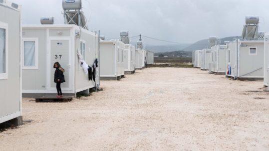 Refugee Camp Greece Empty Coronavirus Covid-19 Lockdown